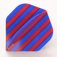 5 x SETS BLUE MAROON STRIPES FOOTBALL DART FLIGHTS, West Ham, Crystal Palace