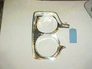 1966 Plymouth Fury Sport NOS MoPar HEADLAMP DOOR BEZEL