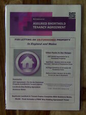 Assured Shorthold Tenancy Agreement For Letting An Un-Furnished Property + Notes