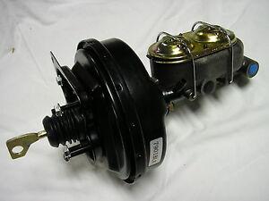 "BLACK 9"" 1967 68 69 70 Ford Mustang Fairlane Brake Booster w/ Master Cylinder"