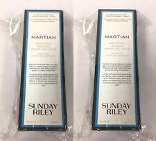 2 x Sunday Riley Martian Mattifying Melting Water Gel Toner 4.4 Fl. Oz.  Boxed