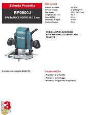FRESA - FRESATRICE MAKITA RP0900J POTENZA 900 WATT PINZA mm 8