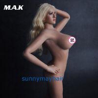 1/6 Rubber Skin Female Big Bust Suntan Figure Body 12inches Girl Doll Model