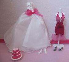 Barbie Fairytale Wedding Party I Can Be a Bride~BRIDESMAID DRESS GOWN CLOTHING