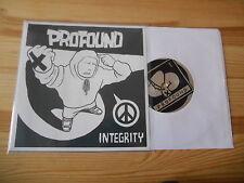 """7"""" Punk Profound - Integrity (8 Song) CRUCIAL RESPONSE SXE"""