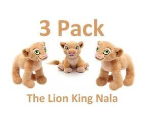 3 pack Disney Nala Plush The Lion King Mini Plush – 6 1/2''