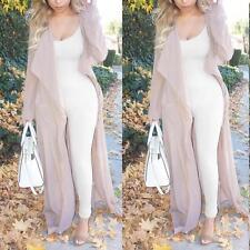 Hot Women Slim Sleeveless Bodycon Romper Jumpsuit Clubwear Bodysuit Long Pants