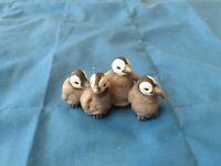2009 Schleich Penguin babies figurine