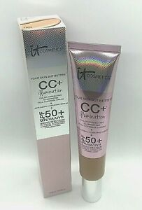 It Cosmetics Your Skin But Better CC+Illumination Spf 50 ~ Tan ~ 2.53 oz BNIB