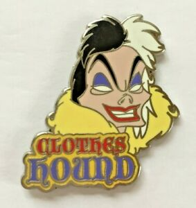 Disney Pin Badge Villains Attributes Mystery Collection - Cruella