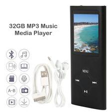 """32GB MP4 MP3 lecteur de musique Media vidéo FM enregistreur jeux lecture 1,8""""LCD"""