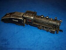 MANTUA TYCO HO RTR STEAM SWITCHER 040 FACTORY 1950S TYCO ON TENDER ALL METAL