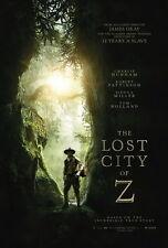 "003 The Lost City of Z - Amazon Jungle Adventure USA Movie 14""x20"" Poster"