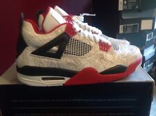 Air Jordan 4 White Laser New DS 100% Authentic Size 9 With Hat And Shirt