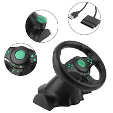Gaming Vibration Racing Steering Wheel and Pedals for Xbox 360 PS2 PS3 PC Sweet