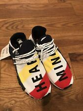 New Without Box Pharrell Adidas NMD Hu Race Heart Mind SIZE 10