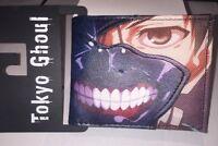Tokyo Ghoul Wallet Ken Face Leather PU Bi Fold Anime Wallet Bioworld