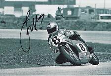 Freddie Spencer Hand Signed 12x8 Photo Honda MotoGP 5.