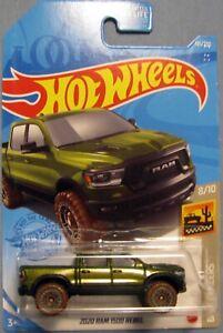 "Hot Wheels 2021 Mainline "" 2020 Ram 1500 Rebel "" Baja Blazers 8/10"