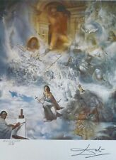 SALVADOR DALI The Ecumenical Council HAND NUMBERED PLATE SIGNED LITHOGRAPH