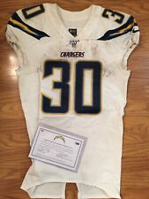 Austin Ekeler Los Angeles Chargers Game Used Worn Jersey COA Rushing TD Unwaseh