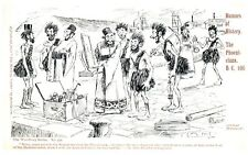 Postcard Early Comedy Humors of History The Landing of Julius Caesar BC 55 22