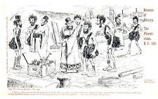 Postcard Early Comedy Humors of History The Landing of Julius Caesar BC 55 22