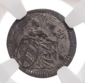 GERMANY, Nurnberg. Silver Kreuzer, 1797, KM-390, NGC MS62