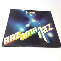 Nazareth 'Razamanaz' UK 1973 1st Press Crest1 Vinyl LP VG+/VG Very Clean Copy!!