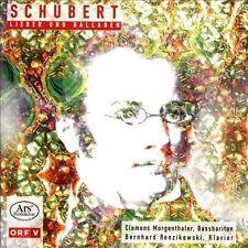 Lieder und Balladen - Clemens Morgenthaler, Bass Baritone, New Music