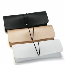 Leather Glasses Cases Magnetic Portable Solid Holders Pouch Spectacle Protectors