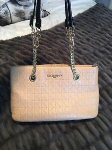 Karl Lagerfeld Quilted Handbag