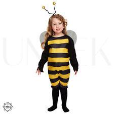 Cute Toddler Bumble Bee Fancy Dress Costume 2-3 YO Girls Halloween Animal Outfit