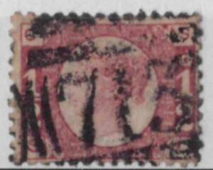 z328) Great Britain. 1870. Used. SG 49 1/2d  Rose  Plate 14. c£30
