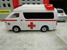 TOMICA FIRE RESCUE RED CROSS CUSTOM UNIT