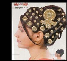 Bindi bijou de peau strass pour les cheveux Inde   1732