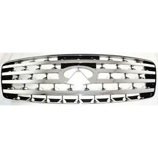 NEW 2003-2005 GRILLE GRILL CHROME FOR INFINITI FX35 FX45 IN1200110
