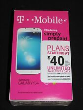 Brand New Sealed Samsung Galaxy S4 16GB White (T-Mobile) No-Contract Smartphone