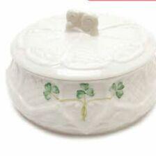"""Belleek Dalriada 5"""" Trinket Box  - Mint in Box"""