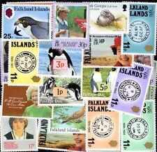 FALKLAND Iles - FALKLAND ISLANDS collections de 10 à 200 timbres différents