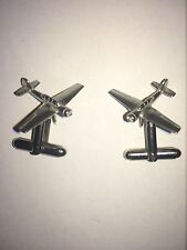 Yakovlev Yak-52 C47 Trainer Aircraft Fine English Pewter Cufflinks
