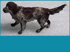 very nice antique Vienna bronze English Springer Spaniel hunting dog