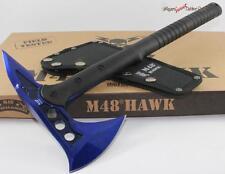United M48 Blue Hawk Tactical Fighting Survival Hatchet/Knife/Axe/Tomahawk