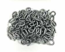 100pcs- Galvanized S Hooks 2 1/8 Inch Long