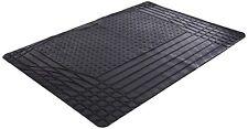 Black Heavy Duty Rubber Boot Mat Liner for Mitsubishi Shogun Pinin 3dr 00-06