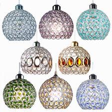 Modern Glass Crystal Ceiling Pendant Light Shade Jewel Ball Ceiling lamp Shades