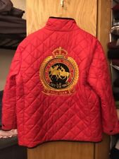RALPH LAUREN Reversible Quilted 2008 Switzerland Polo Winter Cup Jacket Size L