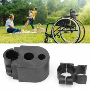 Wheelchair Walking Stick Rack Bracket Crutch Holder Electric Scooter Accessories