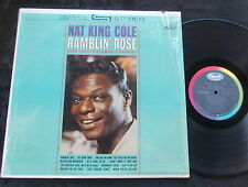 NAT KING COLE Ramblin' Rose LP USA