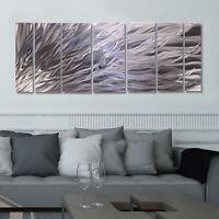 Statements2000 3D Metal Wall Art Panels Modern Abstract Silver Decor Jon Allen